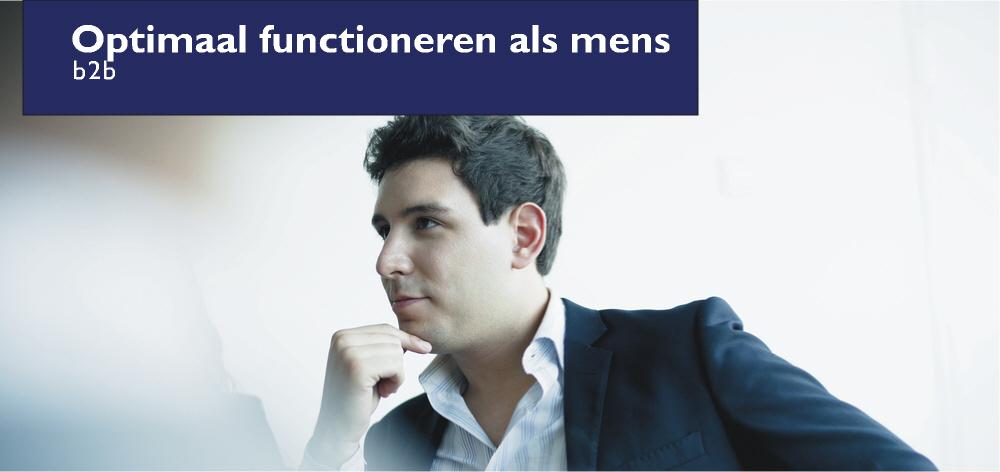Optimaal functioneren als mens - bedrijfsleider training b2b